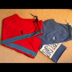 PINK Victoria Secret sweatpants; 2 pairs